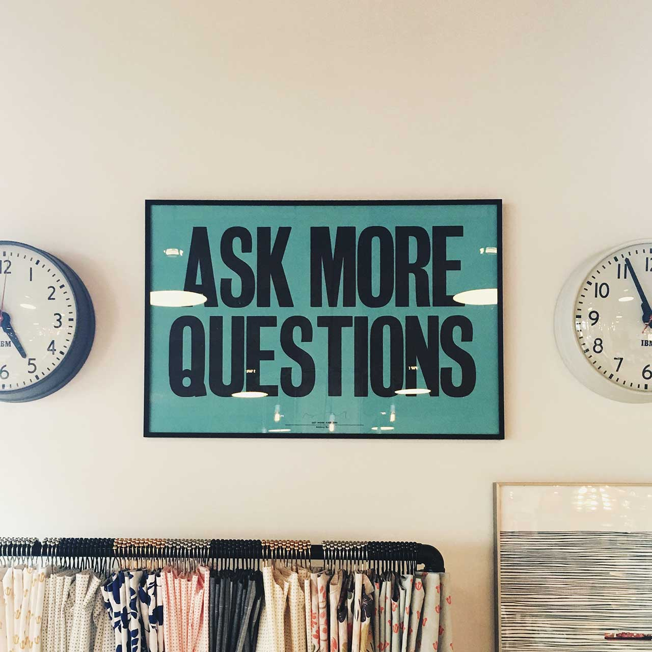 Ask More Questions: 'A poet is only completely successful if he has awakened in the mind of the reader an echo of his or her own emotional experiences, who may not themselves have been able to put their feelings into words.'