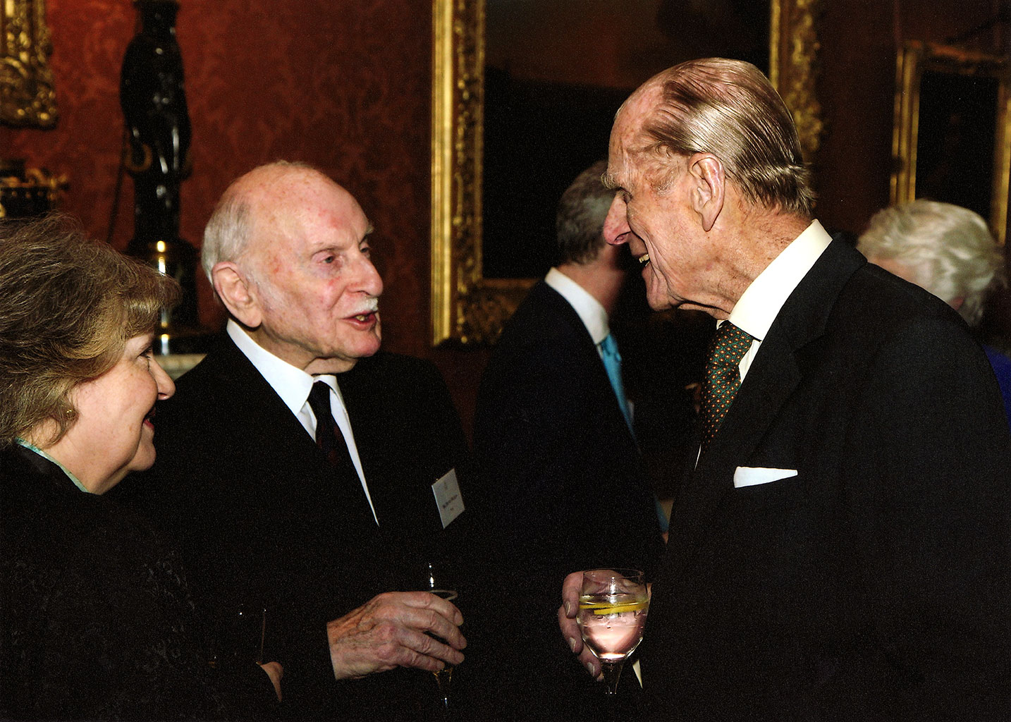 Photo of when Dennis Wilson met the Duke of Edinburgh