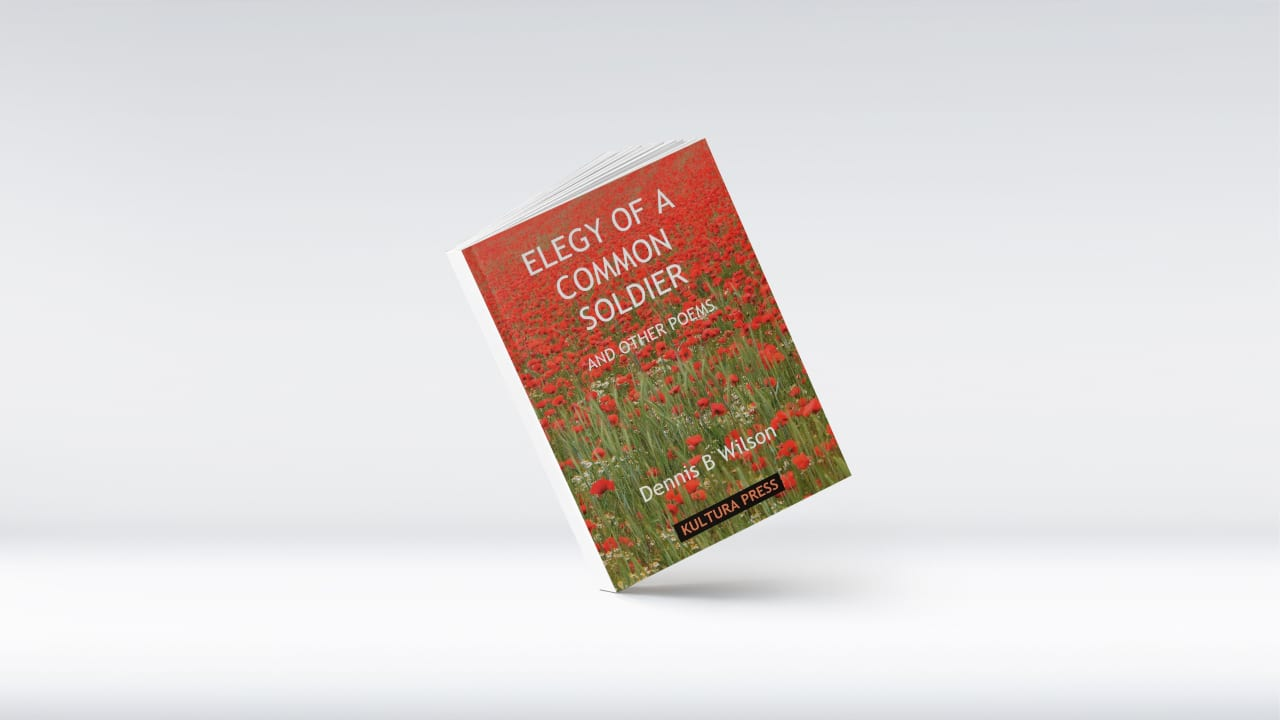 Elegy of a Common Soldier & Other Poems by Dennis B. Wilson (Poem about fighting in World War II and the futility of war)
